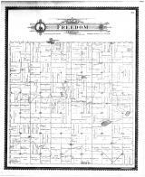 Freedom Township, Alma City, Vivian PO, Mott Lake, Waseca County 1896